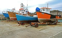 Portstewart, Fishing boats, County Londonderry © Albert Bridge